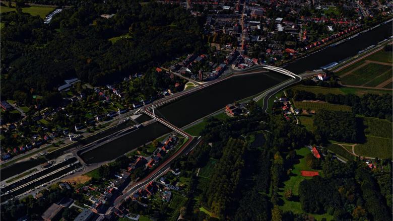 Render nieuwe brug