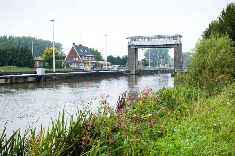 Foto stuw van Denderbelle