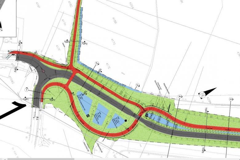 Plan aansluiting Berenbroekstraat-Mizerikstraat