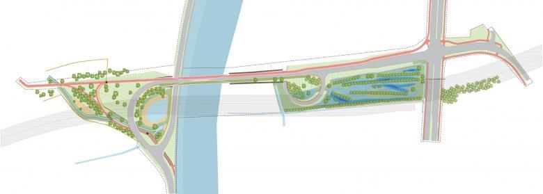 grondplan groene corridor