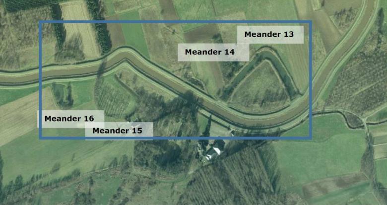 Kaartje meanders 1