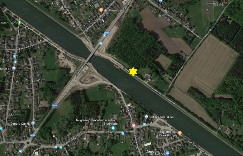 plan kijklocatie invaren brug stokrooie