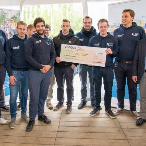Winnaars businessplan Solar boat Universiteit Antwerpen