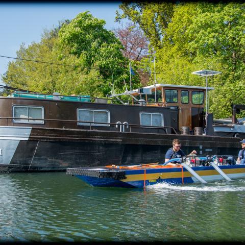 boot van de Ecorace Challege